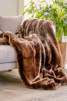 Urban Outfitters Faux Puma Fur Throw Blanket
