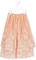 Caffe' D'orzo - Fiordaliso skirt - kids - Cotton/Nylon/Spandex/Elastane/Micromodal - 6 yrs