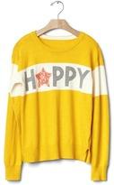 Gap Embellished intarsia love sweater