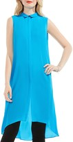 Vince Camuto Chiffon High/Low Tunic