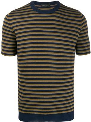 Roberto Collina short-sleeved striped T-shirt