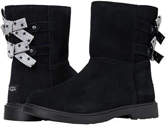 Ugg Kids Tillee (Little Kid/Big Kid) (Black) Girls Shoes