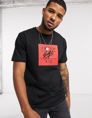 Fresh Ego Kid box logo t-shirt