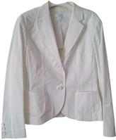 Escada White Cotton Jacket for Women
