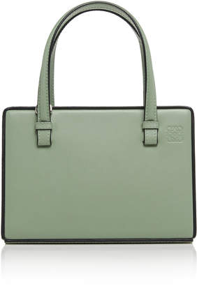 Loewe Leather Top Handle Bag