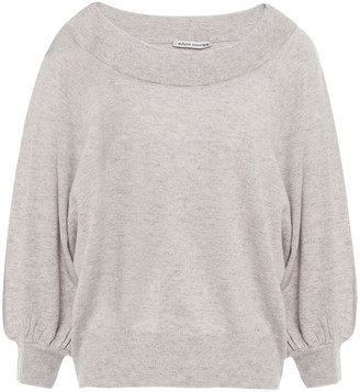 Autumn Cashmere Cropped Melange Cashmere Sweater