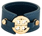 Tory Burch Logo Leather Cuff
