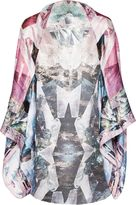 Ted Baker Amilot Mirrored Minerals Silk Cape Scarf