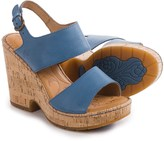 Børn Annaleigh Wedge Sandals - Leather (For Women)