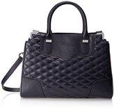 Rebecca Minkoff Quilted Amorous Satchel Top Handle Bag
