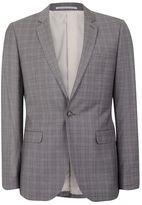 Topman Gray Skinny Fit Suit Jacket