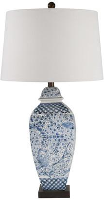 "Sagebrook Home Ceramic 31"" Ginger Jar Table Lamp 50228-02"