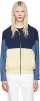 Aime Leon Dore Navy Zip Windbreaker Jacket