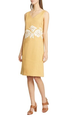 Lafayette 148 New York Embellished Laurie Dress
