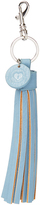Cadet Blue Sweetheart Tassel Key Chain