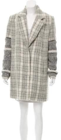 Yigal Azrouel Wool & Mohair Coat