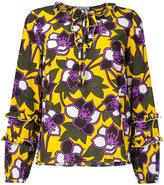 P.A.R.O.S.H. floral print blouse - women - Silk/Spandex/Elastane - XS