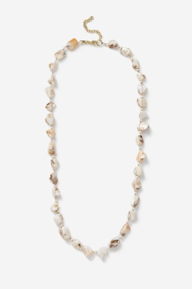 Topshop Shell Rope Necklace