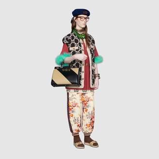 Gucci GG tweed mini skirt