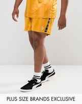 Puma Plus Retro Football Shorts In Yellow Exclusive To Asos 57658001