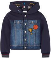 Dolce & Gabbana Bi-material hoodie