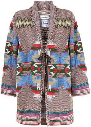 Coohem Navajo Jacquard Cardi-Coat