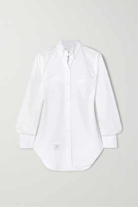Thom Browne Cotton-poplin Shirt - White