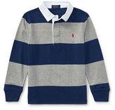 Ralph Lauren 2-7 Striped Cotton Rugby Shirt