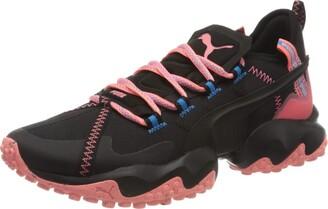 Puma Unisex Adults' Erupt TRL Road Running Shoe Black-Nrgy Peach 10.5 UK