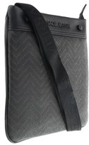 Versace Ee1yobb54 Em08 Black/brown Mens Messenger Bag.