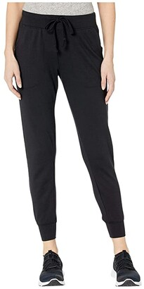 Alternative Cotton Modal Interlock Joggers (Black) Women's Casual Pants
