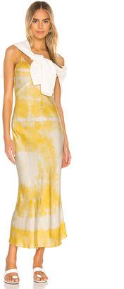 Dannijo Embroidered Slip Dress