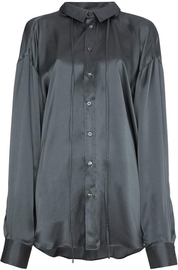 Y/Project Y / Project Silk shirt with extra sleeves