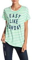 Sundry Easy Like Sunday Striped Tee