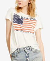 Denim & Supply Ralph Lauren Flag Graphic T-Shirt