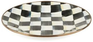 Mackenzie Childs Mackenzie-Childs Courtly Check Enamel Dinner Plate (25Cm)