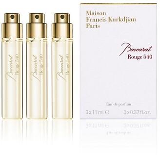 Francis Kurkdjian Baccarat Rouge 540 Eau De Parfum 3-Piece Refill Set