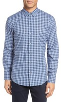 Zachary Prell Men's Gusta Trim Fit Plaid Sport Shirt