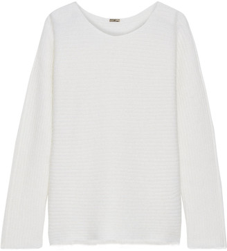 Adam Lippes Ribbed Mohair-blend Sweater