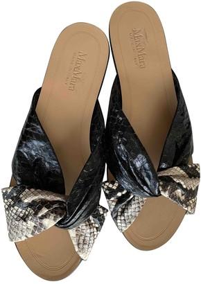Max Mara Multicolour Leather Sandals