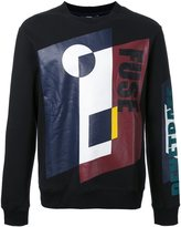 General Idea geometric print sweatshirt