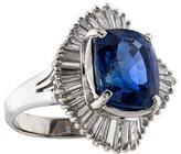 Ring Sri Lankan Sapphire & Diamond