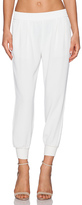 Joie Mariner Cropped Pant in White. - size M (also in S)