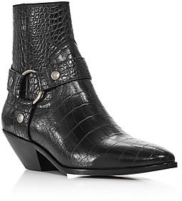 Saint Laurent Women's West Harness Strap Boots