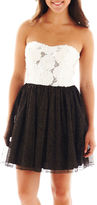 JCPenney Swat Speechless Rosette-Bodice Dress