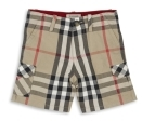 Exploded Check Bermuda Shorts