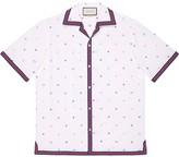 Gucci Symbols fil coupe bowling shirt