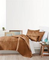 DKNY Helix Quilted King Coverlet