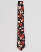 Paul Smith Silk Tie In Floral