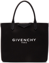 Givenchy Large Logo Print Antigona Shopping Bag